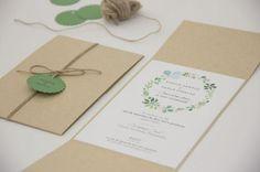 Os 35 convites de casamento mais elegantes para anunciarem o vosso casamento! Image: 23