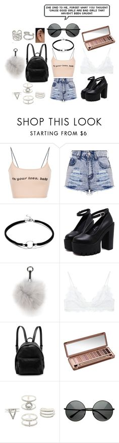 """""""Untitled #62"""" by heartyrose ❤ liked on Polyvore featuring N.Peal, Anine Bing, STELLA McCARTNEY, Urban Decay, Charlotte Russe and NOVICA"""
