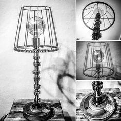 Lamp industrial steampunk Supernal Garage DG