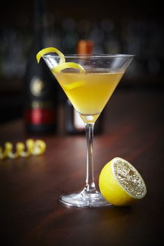The Sidecar. See how it's made plus 6 other chic cocktails every girl should know.
