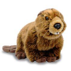 Beaver Plush from WWF's (Worldwide Wildlife Fund) Adoption Program. Proceeds go to their conservation program.