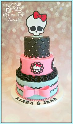 Monster High Birthday Cake