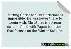 Back Christ in Christmas Pagan, Wicca, Winter Solstice, Never, Love Of My Life, Traditional, Christmas, Worship, Image