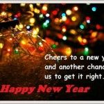 Cheers to a new year and another chance for us to get it right. Happy New Year