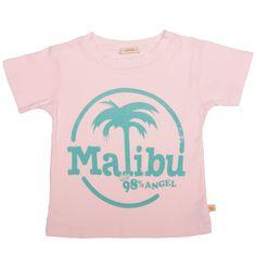 Screened Basic Tee-Malibu Palm