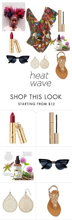 """Summer's not OVER yet!!!"" by lilharwell ❤ liked on Polyvore featuring Água de Coco, Stila and Apt. 9"
