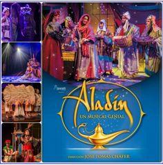 Aladín, un musical genial, Premio al mejor musical infantil de 2013 y a la mejor actriz revelación en los premios Teatro Musical.