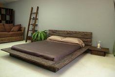 Custom made zen, Japanese style bed http://blackdogwoodworking.com/Bedroom/Beds/Vashon.html