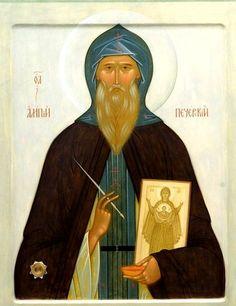 Святой Преподобный Алипий, иконописец Печерский.
