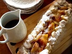 Torta de maça com baunilha e caramelo :: Pimenta na cozinha