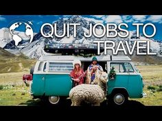 Couple Quit their Jobs to Travel from Alaska To Patagonia - YouTube