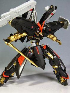 GUNDAM GUY: HG 1/144 Astray Gold Frame Amatsu Hydra Armor - Custom Build