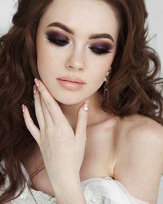 45 Wedding Make Up Ideas For Stylish Brides ❤ #weddingforward #wedding #bride #weddingmakeup #bridalbeauty