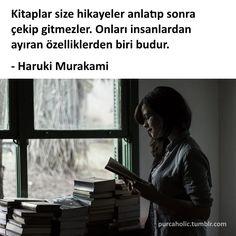 Ben sewdiğim kitap bitince bile oturup ağlayan biriyim... Sen gidince mi kendimi harap etmeyim....!