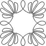 Quilt Stencil Shell Wreath By Estes, Laura