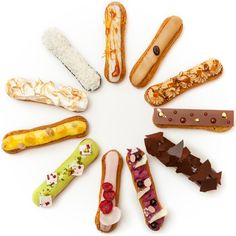 The iceclair, Melba at The Savoy. Summer pop up and can create your own toppings. Strand, Charing Cross station £4.95