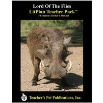 LitPlan Teacher Pack For Lord of the Flies--Complete unit of study; open and teach. Includes study questions, vocabulary, daily lessons with assignments & activities, unit tests, writing assignments, review materials...everything you need.