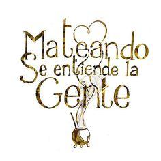 Graciela Azul🌷 (@gracielaazul23) | Twitter Yerba Mate, Love Mate, Spanish Teaching Resources, Mr Wonderful, Tea Art, More Than Words, Spanish Quotes, How To Memorize Things, Lettering