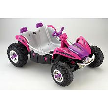 "Power Wheels Fisher-Price 12 Volt Dune Racer Ride On - Pink - Power Wheels - Toys ""R"" Us"