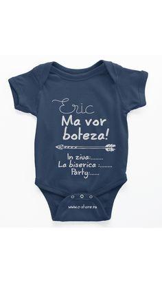 Body personalizat pentru bebelus