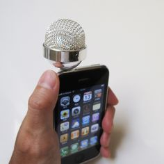Make your iPhone a microphone.