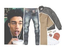 """""""im hungry , and i need a friend or two ."""" by d-omestic ❤ liked on Polyvore featuring Yves Saint Laurent, NIKE, Filson, Michael Kors, men's fashion and menswear"""