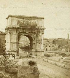 Arco di Tito Anno: 1857 ca.