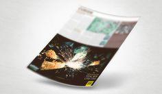 Şahinler Metal - Gazete & Dergi Reklam Tasarımı -Silüet Tanıtım | Grafik Tasarım