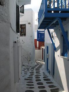 Mykanos, Greece
