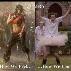 Zumba- bringing out the inner un-co weirdo in everyone