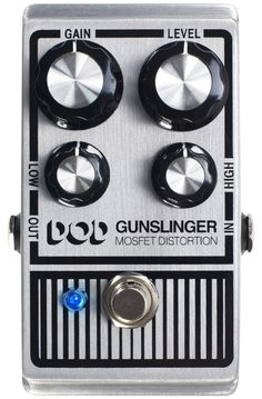 Digitech DOD Gunslinger Mosfet Distortion Effects Pedal