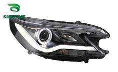 262.80$  Buy here  - Pair Of Car Headlight Assembly For HONDA CRV 2012-UP Tuning Headlight Lamp Parts with Daytime Running Light Angel Eyes Bi Xenon