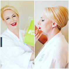 Glamorous mom #mob #updo #frenchtwist #redlips #blonde #blondemom #sopretty #weddingmakeup