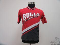 Vtg 90s Team Rated Chicago Bulls Crewneck Short Sleeve t Shirt sz Youth L NBA #TeamRated #ChicagoBulls #tcpkickz