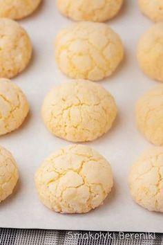Kokosowe ciasteczka z budyniem Baking Recipes, Cookie Recipes, Dessert Recipes, Polish Desserts, Sweet Pastries, Food Cakes, Artisanal, Christmas Baking, Love Food
