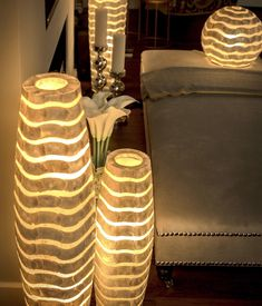 Unique & Uplifting home lighting that celebrates human creativity and global artisans. Eco friendly statement pendants, table and floor lamps. Floor Lamps, Home Lighting, Pearl, Decor Ideas, Chic, Unique, Summer, Home Decor, Shabby Chic