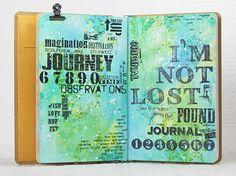May Art Journal with Shari