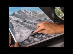 TUTORIAL - How to paint snowy mountains