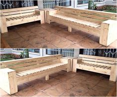 Bless your out door area with extra-ordinary creations. To transform dull and boring environment of your place make use of wood pallets in such alluring provided style. These reused wood pallet sofa are good choice to make comfortable sitting plan at your area. This is great way to make handy and reasonable pallet projects.