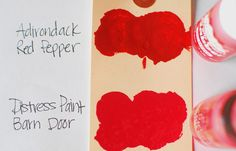 Craft Product Review: Ranger Ink Tim Holtz Distress Paint   Craft Test Dummies