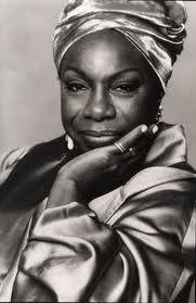 Nina Simone, born Eunice Kathleen Waymon. American singer, songwriter, pianist, arranger, and civil rights activist