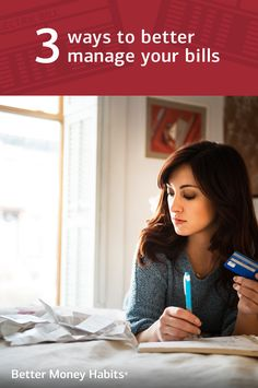Life can be pretty hectic, and keeping track of bills is harder than it seems. Use these simple strategies to stay on top of your finances and build #BetterMoneyHabits.
