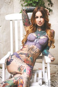 Inked Girls model and tattooer Little Linda #InkedMagazine #InkedGirls #InkedGirl #model #tattooedmodel #girlswithtattoos #tattooedgirl