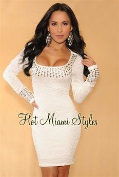 4714c71330b White Ruched Textured Studded Full Length Sleeves Dress Večerní Šaty