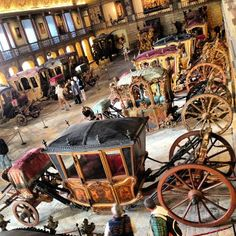 This is where you'll find well-preserved historical carriages of Portuguese nobility. Don't miss the coach used by King Philip II of Portugal (the one he used to get to Lisbon from Madrid).