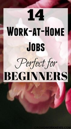 Finding beginner work-at-home jobs is hard. But today I am sharing a list of wor… Finding beginner work-at-home jobs is Work From Home Companies, Online Jobs From Home, Work From Home Opportunities, Work From Home Tips, Business Opportunities, Work At Home Jobs, Work From Home Careers, Uk Online, Affiliate Marketing