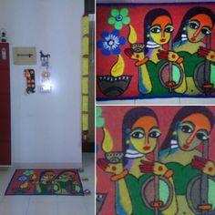 diwali rangoli by Aparajita sharma
