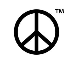 blue-eyed soul, rock'n'roll and zip-a-dee-doo-dah Peace Sign Tattoos, Symbol Tattoos, Barbed Wire Tattoos, Drip Art, Peace Sign Art, Silhouette Clip Art, Illustration, Fashion Pictures, Peace And Love