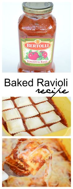 Baked-Ravioli pin