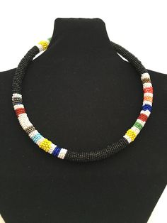 ZULU SEED BEADED NECK ring